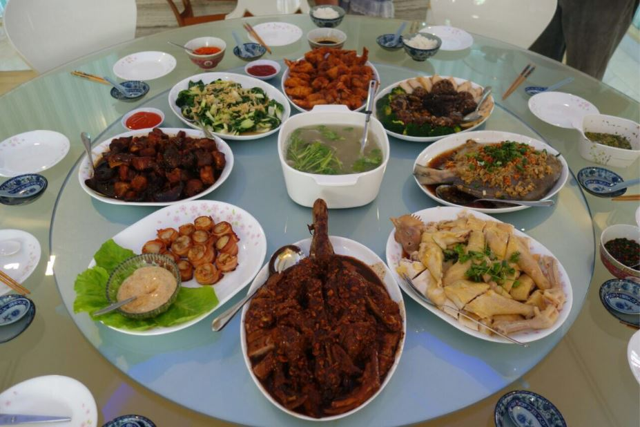My family's Reunion Dinner last Chinese New Year