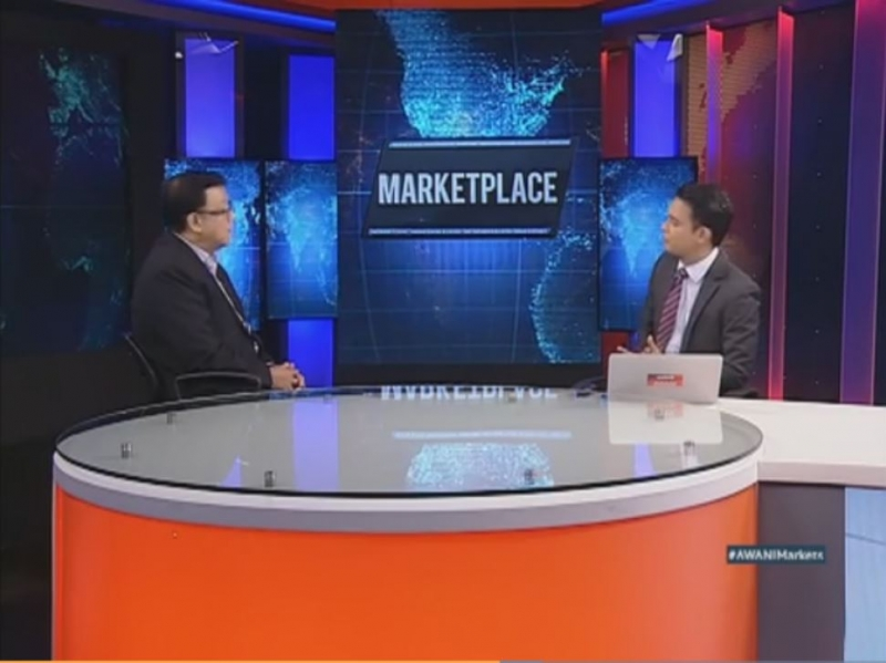 Dato Sri Chong Ket Pen on Astro Awani's The Marketplace